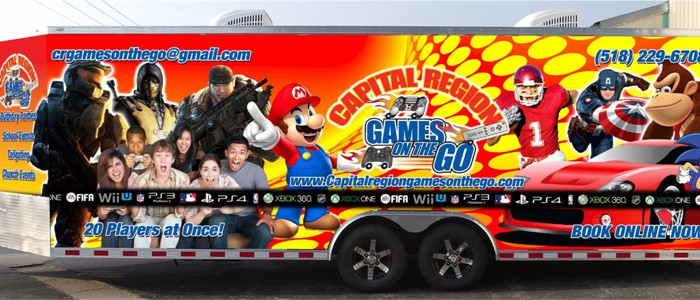 Capital Region Games On The Go!